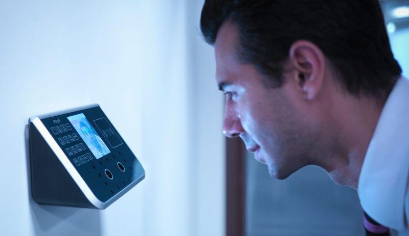 Biometria de acesso