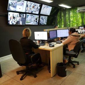 Serviço de monitoramento 24 horas
